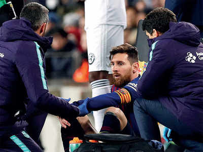 Messi doubtful for 'Clasico'