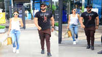 Malaika Arora and Arjun Kapoor give out yin and yang vibes in white and black ensemble on lunch date