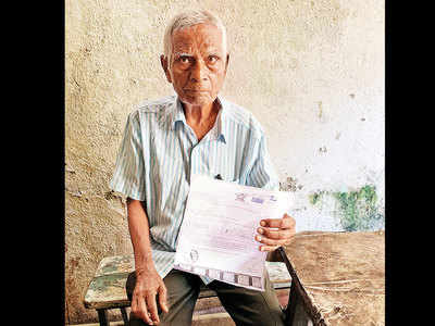 Man, 80, who has no vehicle gets a traffic e-challan