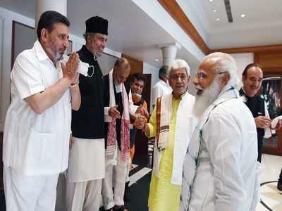 Jammu Kashmir news live: J&K delimitation has to happen quickly so that polls can happen, says PM
