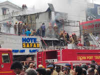 Kochi: Footwear showroom gutted in fire
