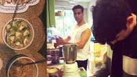 Twinkle Khanna is a proud mom as son Aarav prepares delicious food for her