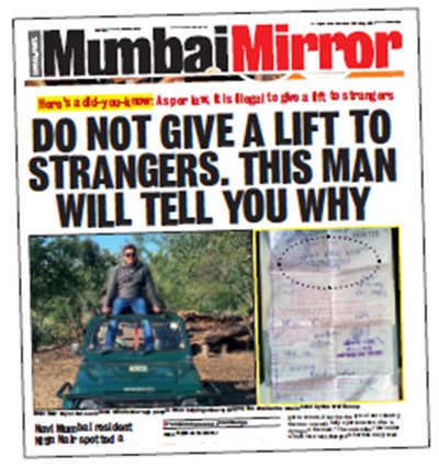 Bengaluru will never do what Mumbai did — challan a do-gooder