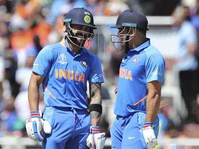 CWC'19: Virat Kohli, MS Dhoni guide India to 268/7 against West Indies