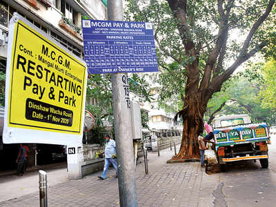 Would you pay Rs 80k a year to park on the road outside your house?