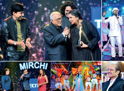 Mirchi Music Awards: Bappi Lahiri receives Lifetime Achievement Award