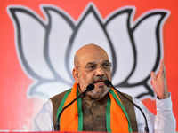 BJP president Amit shah suffering from Swine Flu, admitted to AIIMS