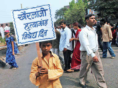 11 set free in Kherlanji case