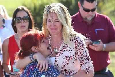 Florida Douglas High school shooting: Survivor hid in closet just as her grandfather did almost 70 years ago in first US school massacre