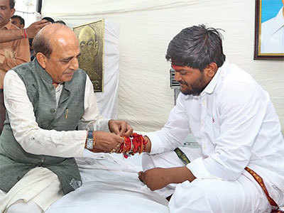 Mamata sends rakhi to 'brother' Hardik