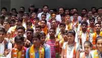 Uttar Pradesh: BJP MLA Sushil Singh carries party's membership drive in school, probe ordered