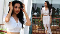 Kiara Advani dazzles in white crop top and skirt