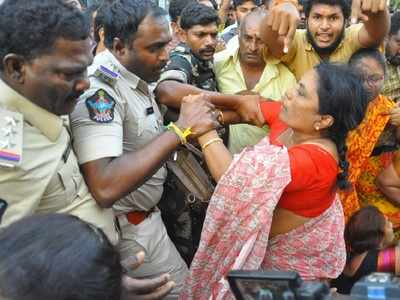 Andhra Pradesh cops violated Fundamental Rights of Amaravati people: High Court