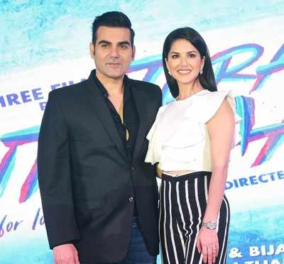 Tera Intezaar first poster out: Sunny Leone takes the lead, Arbaaz Khan looks serious in the background