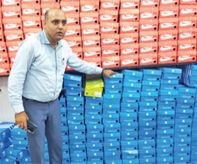 Fake branded shoes worth Rs 1.73 cr seized