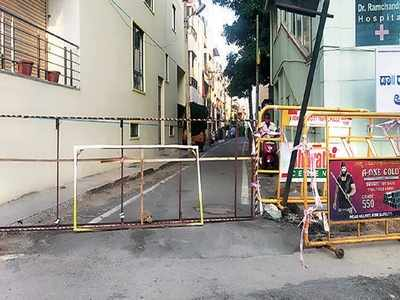 Bengaluru: Neighbourhood roads closed