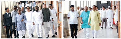 Absentee MLAs spoil party