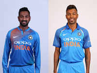 Hardik, Krunal became third pair of brothers to play cricket for India together