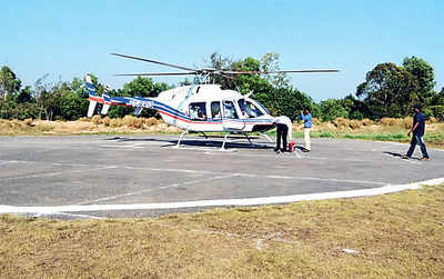 Heli-tourism makes a comeback to Udupi