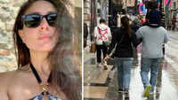 Kareena Kapoor Khan spotted rejoicing in London with family hubby Saif and son Taimur