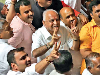 Awaiting Centre nod to form K'taka govt: BSY