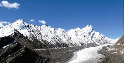 A glacier melt alert