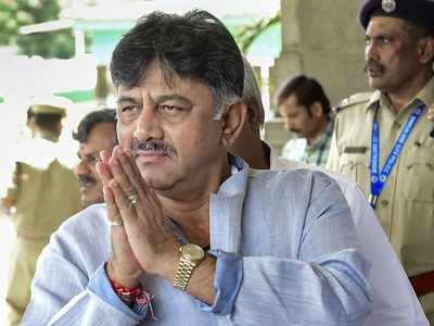 DK Shivakumar hits out at IT department over gifting mobile phones