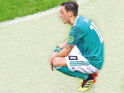 Germany's Mesut Ozil retires from international football