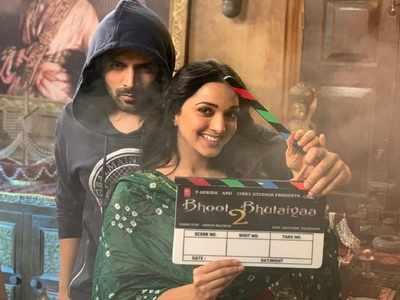 Photos: Kartik Aaryan, Kiara Advani begin shooting for Bhool Bhulaiyaa 2