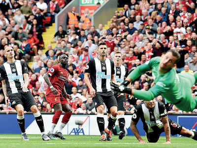 Liverpool beat Newcastle United to win fifth consecutive match