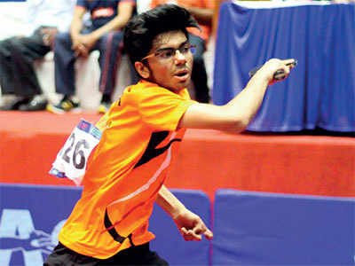 Surat lad Manav Thakkar becomes first Indian to top the ITTF Junior Boys' rankings