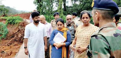 Karnataka: Row over Sitharaman's itinerary