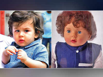 Do you feel it ethical that Taimur Ali Khan now has dolls in his name?