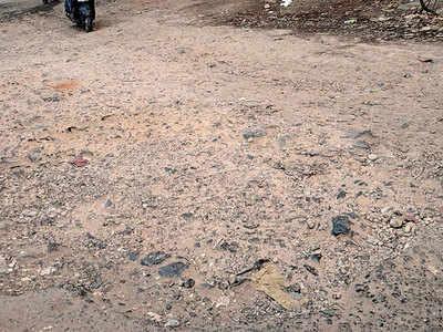 Locals want PMC to fix Kedari Nagar road