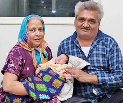 Meet this miracle mummy at 60!