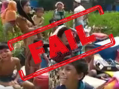 Fake alert: Bangladesh video shared with false claim of Muslim homes burnt by Hindus in West Bengal