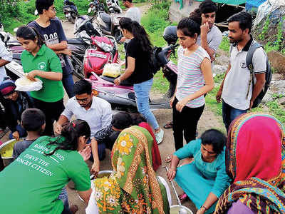 City org plans to replenish a month's ration for 20 villages