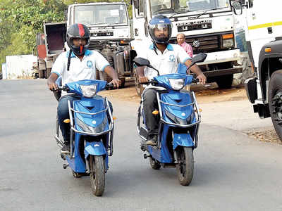 Hinjawadi's on a ride to cleaner transport
