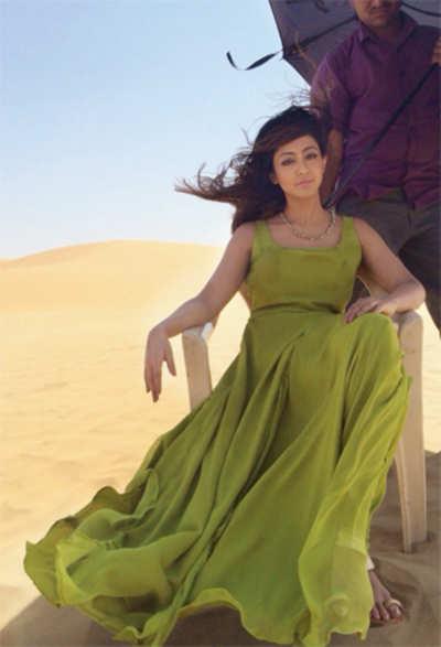 Aindrita Ray stranded in a desert