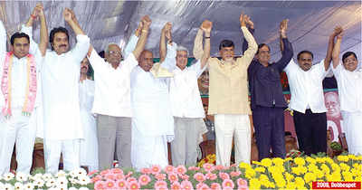 HD Kumaraswamy swearing-in ceremony: Regional parties come together to join forces