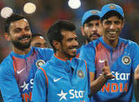 Chahal sparks England collapse as India win T20 series