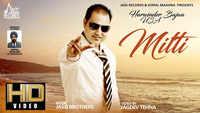 Latest Punjabi Song 'Mitti' Sung By Harminder Bajwa