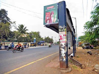 Kondhwa Road PMPML bus stands lack seats