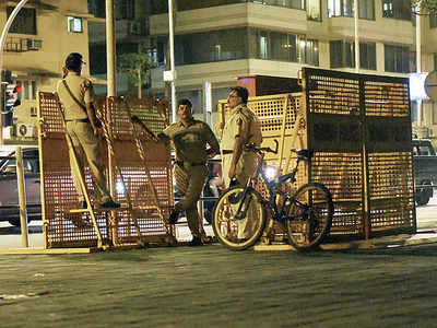 Marine Drive promenade gets protective railing to prevent Europe-type vehicle attacks along the boulevard