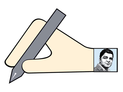 Arnab Goswami and the pale blue dot