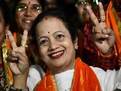 Shiv Sena corporator Kishori Pednekar elected as BMC Mayor