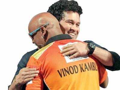 Sachin Tendulkar, Vinod Kambli are back in Mumbai maidans