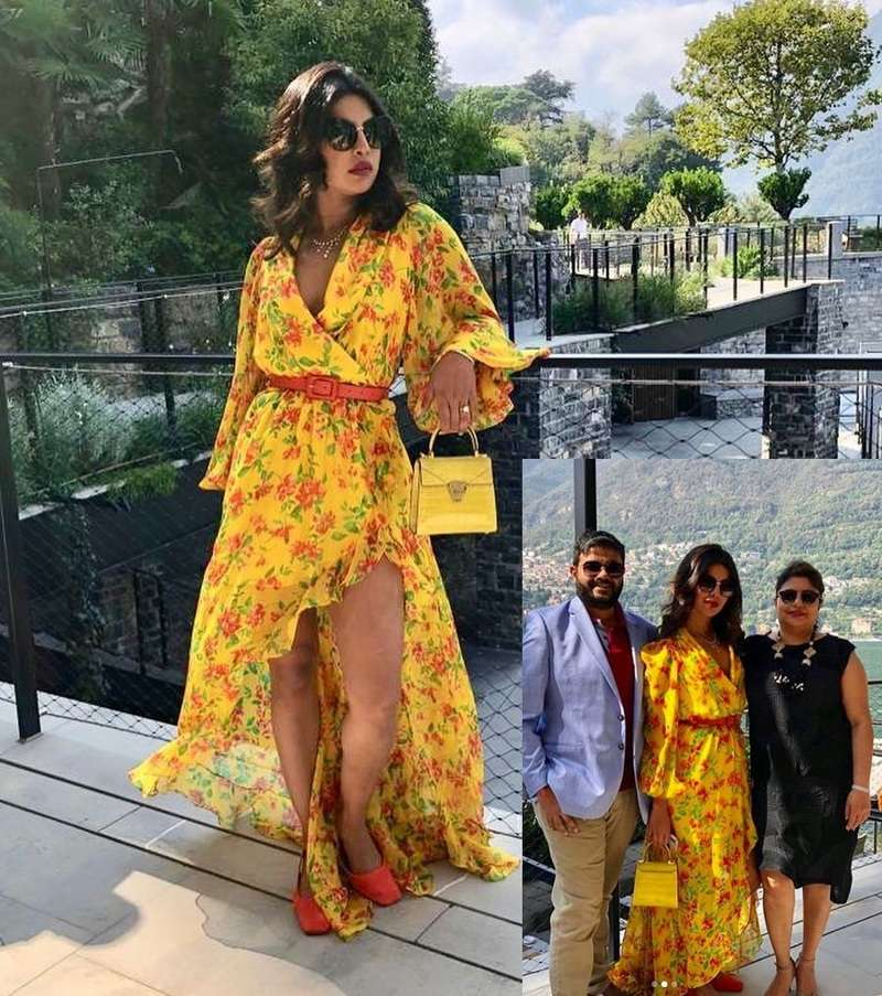 Priyanka Chopra's soaks the Italian sun