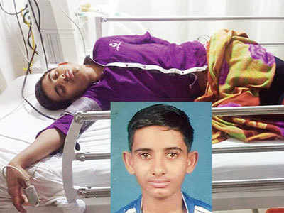 Class 11 science student hit by bat loses memory, parents blame school