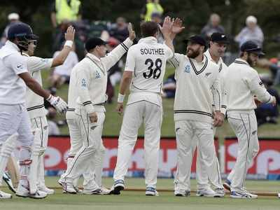 New Zealand thrash India by 7 wickets inside three days, win series 2-0 in Christchurch